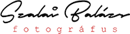 Szalai Balázs fotós Logo