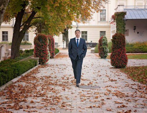 Tamás őszi portréfotózása